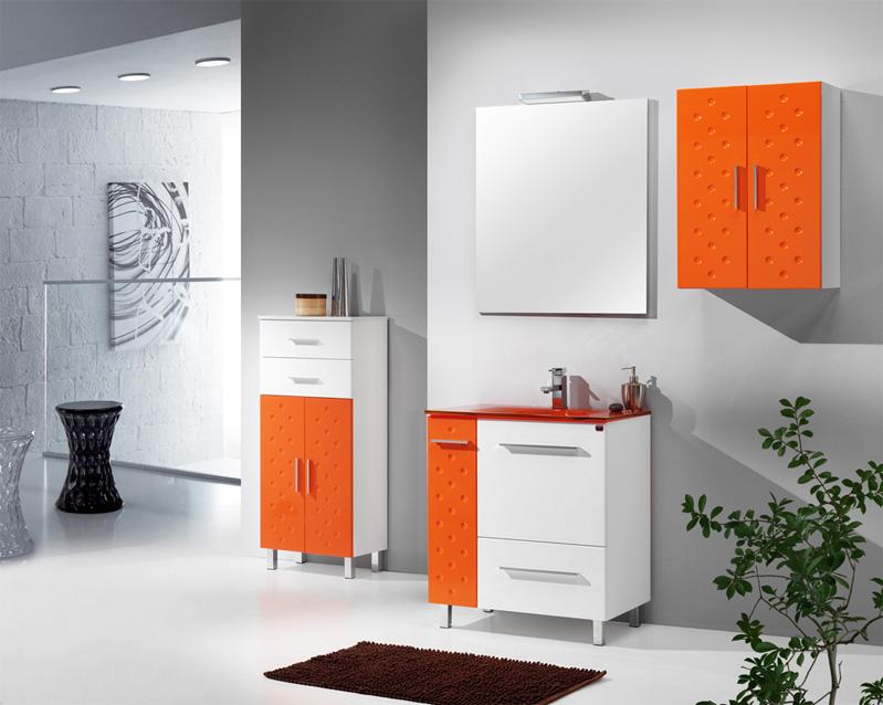 Muebles De Bano Naranja.Mobiliario De Bano Alava