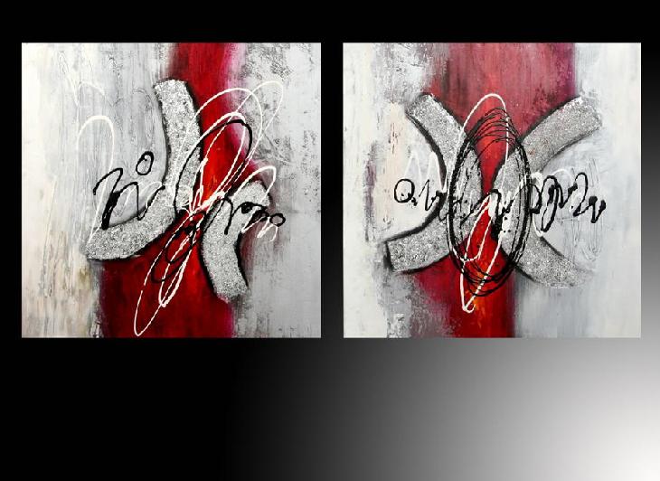 Oleo abstracto colores for Imagenes cuadros abstractos juveniles