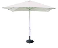 Parasol cuadrado blanco - PARASOL cuadrado  Sombrilla.