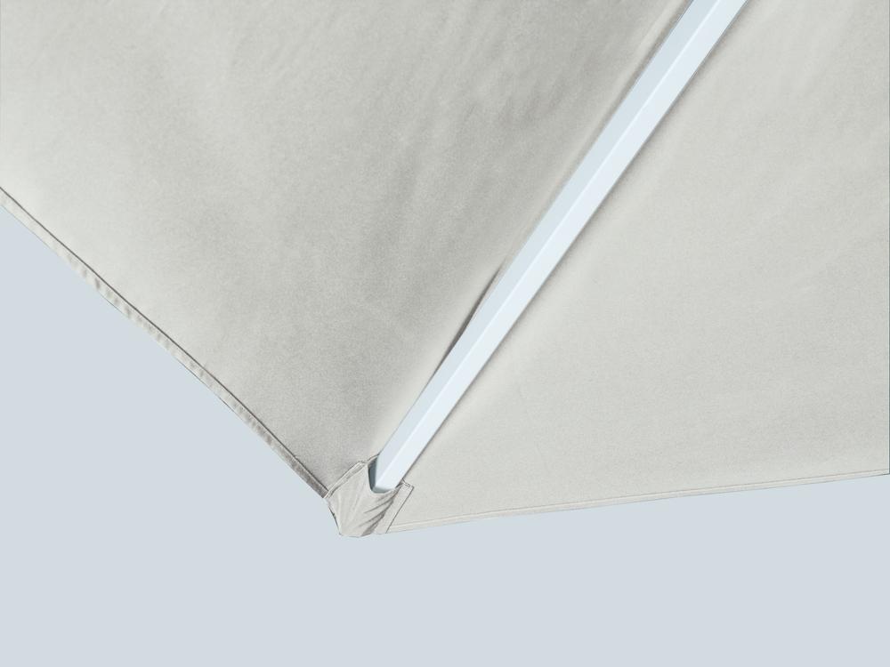 Recambio tela de parasol cuadrado blanco verde for Tela para sombrillas