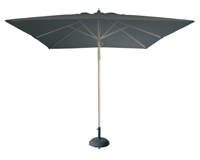 Parasol cuadrado GRIS - PARASOL cuadrado gris Sombrilla.