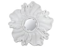 Espejo flor blanca - Espejo flor blanca fabricado en  resina y mdf