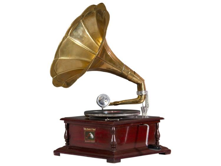 Gramófono vintage - Gramófono vintage