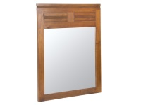 Espejo de pared - Espejo de pared con marco de madera