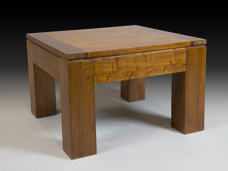 Bonitas mesas de centro y rinconera estilo r stico colonial for Mesas rinconeras de cocina de madera