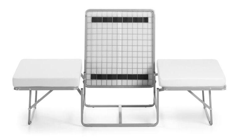 Puff convertible en cama pr ctico e innovador for Puff cama 1 plaza