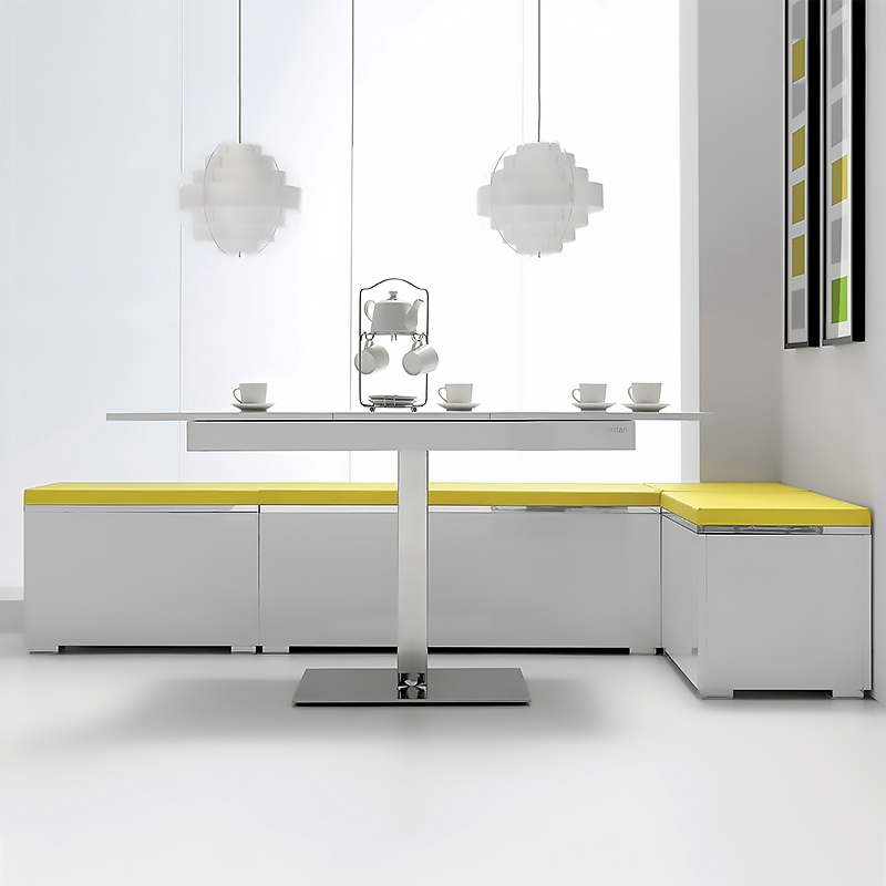 Bancos esquineros de cocina beautiful simple ms de ideas for Banco esquinero para comedor
