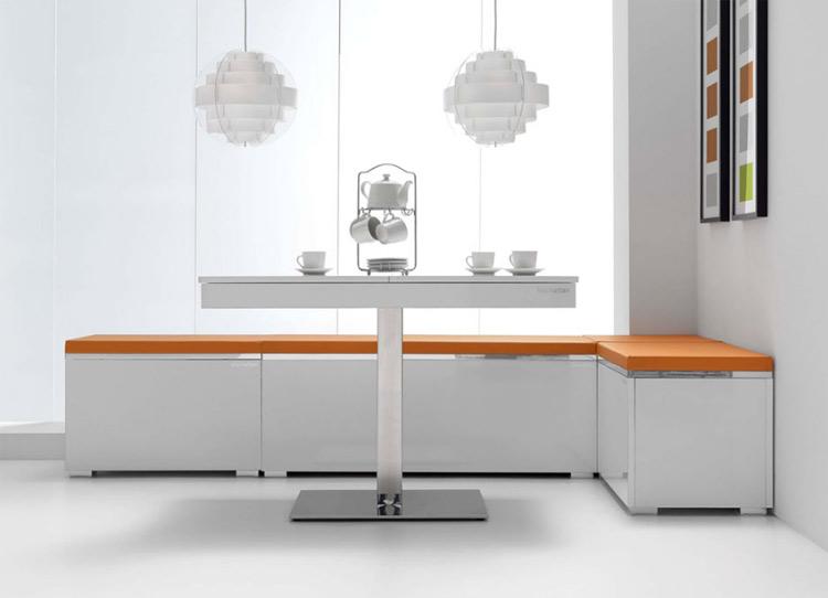 VIM-Rinconera bancos para cocina moderna New York - Bancos rinconera de cocina moderna