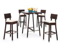 Set de sillas, mesa y cojines modelo RONDA - Set de sillas, mesa y cojines para exteriores modelo RONDA