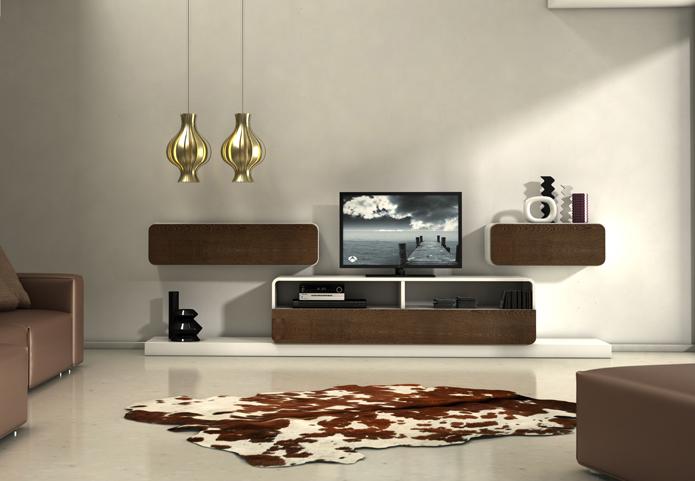 Vitrinas Mia Home Mesa TV retro modernos Nordic