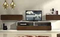 Mesa de TV retro y Nordic - Salón moderno lacado Nordic Mesa de TV