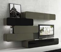 Modulares de salón retro - Salón modular diseño retro