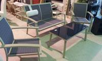 Tresillo para terraza set de jardin - Set de terraza