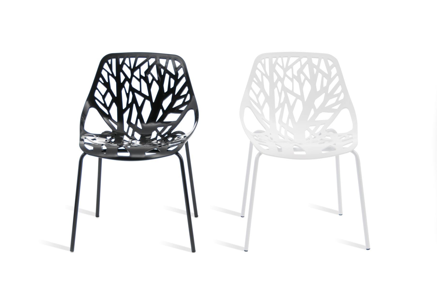 Sillas pl stico modernas for Modelos de sillas para escritorio