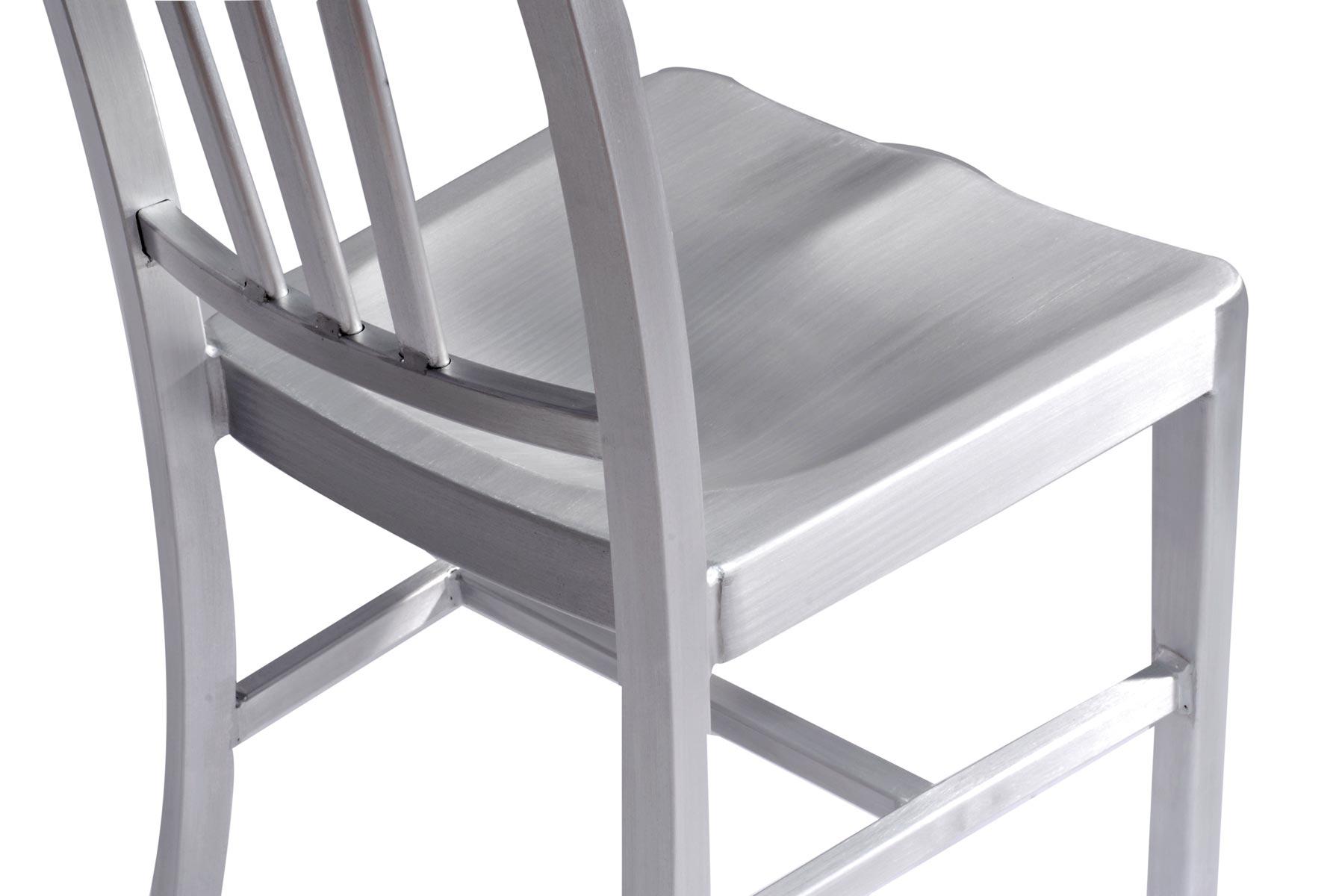 Silla aluminio ligera - Sillas de terraza de aluminio ...