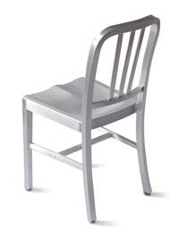 Silla aluminio ligera - Silla aluminio diseño clásico