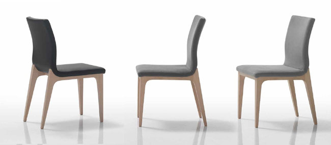 Mia home silla muebles nordic burgos navarra - Sillas modernas madera ...