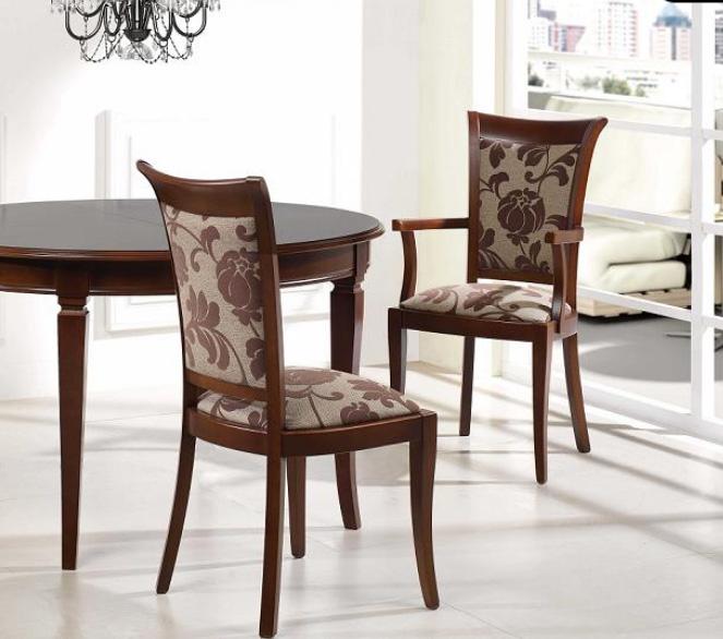 Sill n comedor pontevedra for Modelos de sillas clasicas