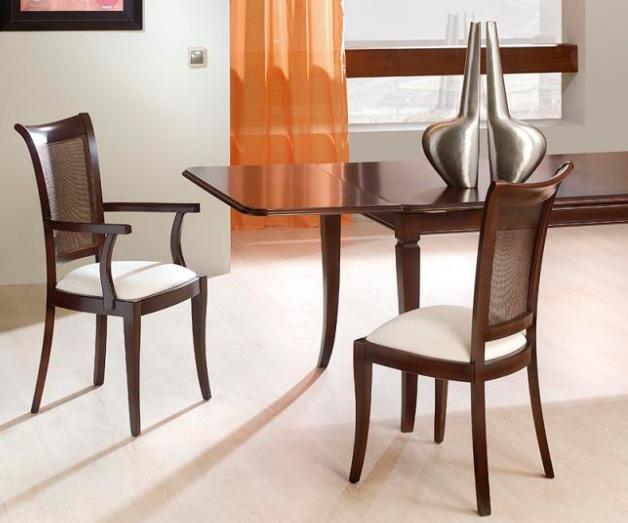silla tapizada comedor galapagar