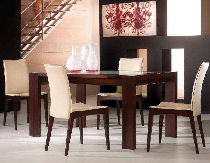 Silla modelo fresco for Telas para tapizar sillas comedor