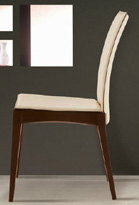 Silla de comedor con espaldar tapizado - Silla de comedor tapizada
