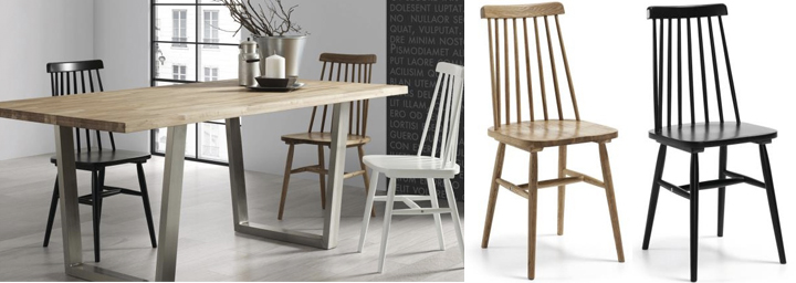 Modelos de sillas de madera para comedor for Fabrica sillas madera