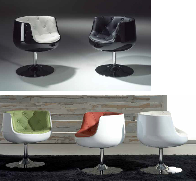 Muebles auxiliares tipo industrial venta online barcelona - Sillones giratorios modernos ...