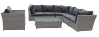 Sofá esquinero de exterior Jack  - Sofa  para conjuntos o de uso individual