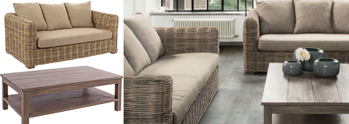 Sofas de jardin baratos elige tu estilo opiniones de los for Sofas exterior baratos