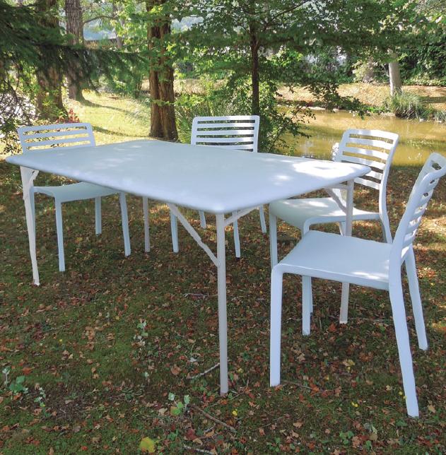 Mesa patas plegables for Mesas de terraza plegables