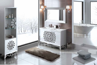 Muebles para baño Klassic 3 - Composicion de muebles para baños Klassic 3, Coleccion de muebles de baño llena de alta calidad, diseño y relax.