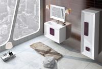 Muebles para baño Kora 2 - Composicion de muebles para baños Kora 2, Coleccion de muebles de baño llena de alta calidad, diseño y relax.