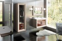 Muebles para baño Lucere 1 - Composicion de muebles para baños Lucere 1, Coleccion de muebles de baño llena de alta calidad, diseño y relax.