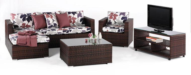 Set de muebles para exteriores TABANA - Set de muebles de jardín TABANA