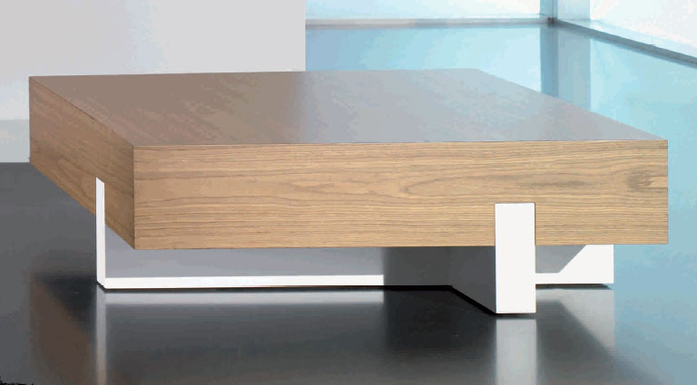 Mesa de centro con amplio cajón CREU - Mesa de centro con amplio cajón modelo CREU