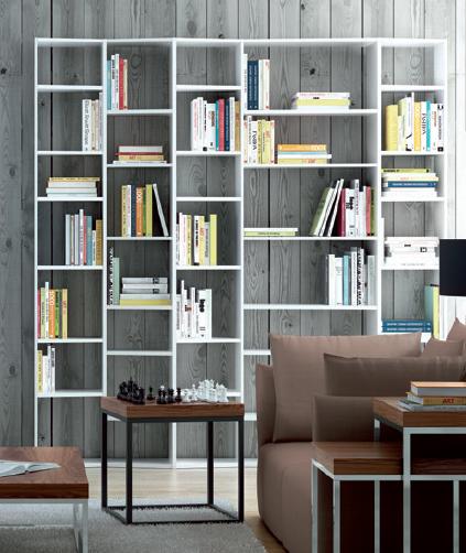 Estanter as bibliotecas salon modular - Estanterias de salon ...