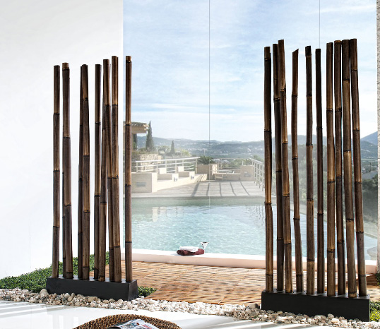 Paraban bambu elegante cantabria for Biombo exterior para jardin