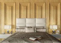 Cabecero pisa sin marco - Cabecero pisa sin marco, multiples colores, fabricado en polipiel o en diferentes telas