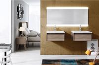 Muebles para baño Elóra 11 - Composicion de muebles para baños Elóra 11, Coleccion de muebles de baño llena de diseño y relax.