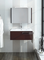 Muebles para baño Gallery 3 - Composicion de muebles para baños Gallery 3, Coleccion de muebles de baño llena de diseño y relax.