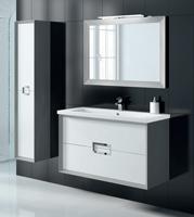 Muebles para baño Novus 1 - Composicion de muebles para baños Novus 1, Coleccion de muebles de baño llena de diseño y relax.