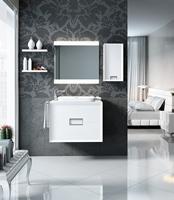 Muebles para baño Novus 2 - Composicion de muebles para baños Novus 2, Coleccion de muebles de baño llena de diseño y relax.