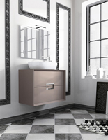 Muebles para baño Novus 3 - Composicion de muebles para baños Novus 3, Coleccion de muebles de baño llena de diseño y relax.