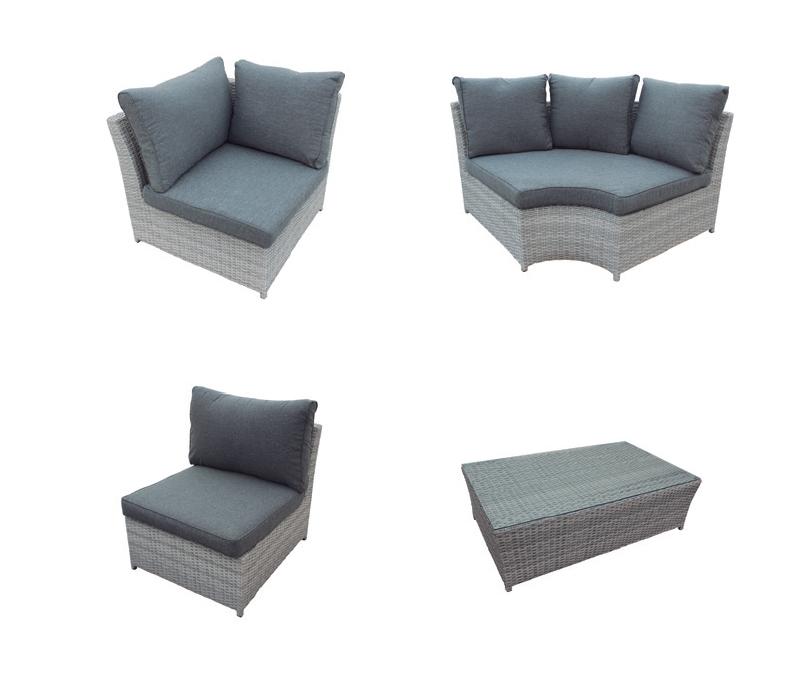 Sof esquinero gris en oferta gris madrid barcelona for Sofa esquinero precio
