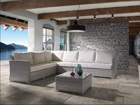 Juego de muebles para exteriores Lura modular - Juego de muebles para exteriores Lura modular, estructura aluminio