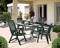 Sillón o mesa o Tumbona PALMA - Sillón o Mesa o Tumbona PALMA, fabricado en resina y acero.