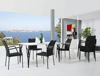 Juego de comedor para ambientes exteriores Hope/Sand - Juego de comedor para ambientes exteriores Hope/Sand