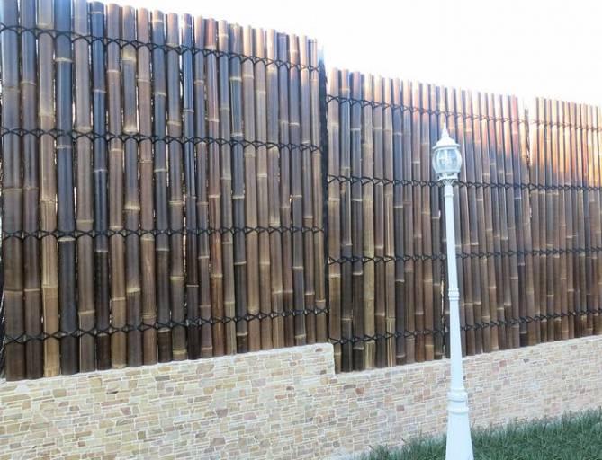 Paneles de bamboo para exteriores