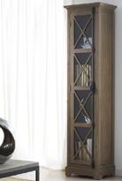 Vitrina madera colonial pequeña - Vitrina dos puertas.