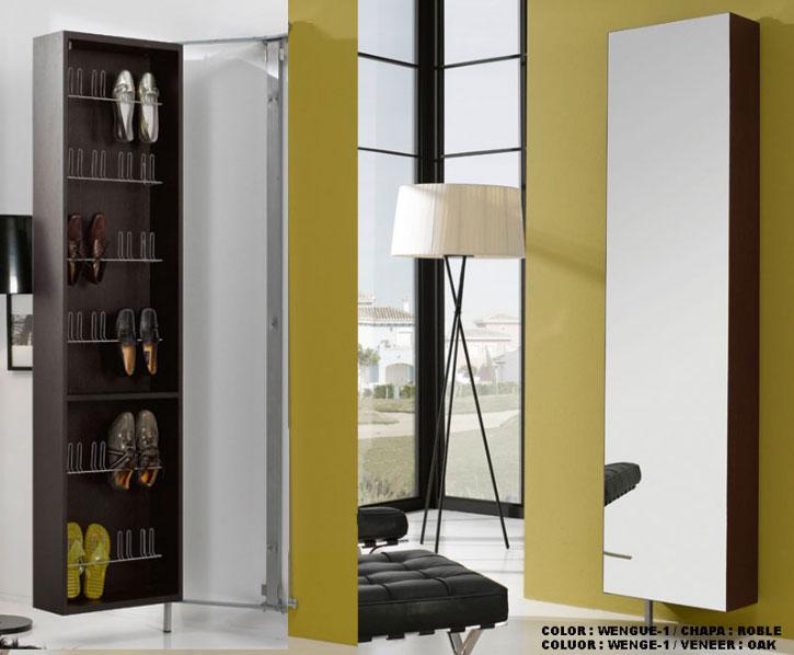 Zapatero perchero espejo santiago compostela a coru a for Conforama espejos de pared